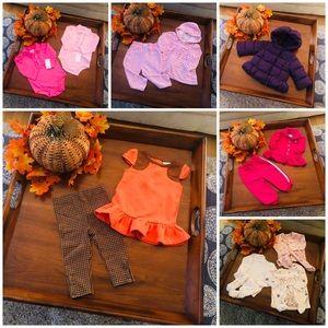 Ralph Lauren 9m Girls Clothing Lot